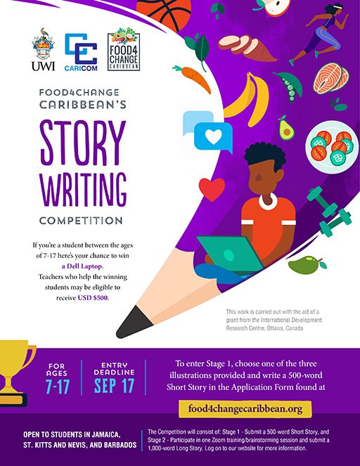 Food4Change Caribbean Story Writing Competition
