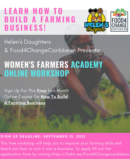 Women's Farmers Academy Online Workshop - Learn How to Build a Farming Business!